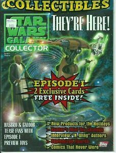 Star Wars Galaxy Collector #4 Sealed with 2 Trading Cards