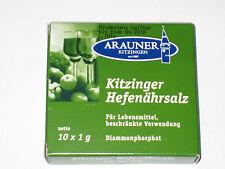 KITZINGER  ARAUNER  HEFENÄHRSALZ  FÜR  WEIN   Weinbereitung