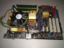 Loaded ASUS P5Q Socket 775 ATX MotherBoard Intel P45 C2D E8400 1.5 GB RAM