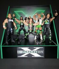 wwe custom made DX display set for wrestling figures. no figs inc