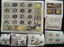 7 Different World Souvenir Sheets from Hoard Order 3 Lots & Get 4 Free Sheets