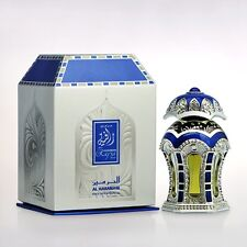 Rafia Silver 20ml Oil by Al Haramain - Unisex - Lemon, Saffron, Musk, Patchouli