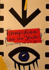 "Original Plakat - Filmpodium-Kino im ""Studio 4"""