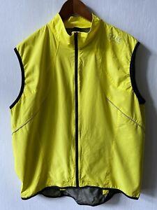 GORE Bike WEAR WINDSTOPPER Active Shell Full Zip Vest men's size XXL