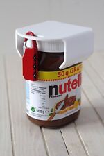 chocosafe®, nutellaschloss, weißes nutella Schloss - rotes Zahlenschloss