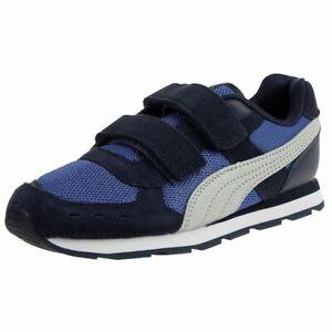 Puma Vista V PS Kinder Sneaker Turnschuhe 369540 Blau
