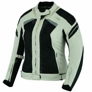 Women Ladies Motorcycle Jacket Motorbike CE Approved Armour Textile Jacket New