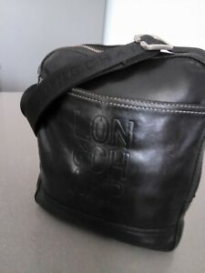 Sacoche bandouliere  cuir Longchamp homme made in FRANCE
