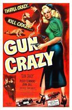 Gun Crazy Movie Poster 24x36