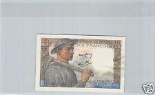 FRANCE 10 FRANCS MINEUR 26.11.1942 V.27 N° 067000587