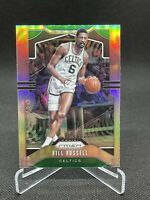 Bill Russell 2019 Panini Prizm Silver Holo Refractor #21 SP Boston Celtics HOF