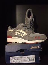 "2013 Highs & Lows x Asics Gel-Lyte III ""Mortar"" (Canvas) - Size 11 - RARE!!!!!"