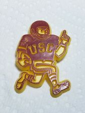 Vintage University of Southern California (USC) Trojan Football Player Pin