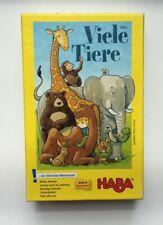 Viele Tiere (Animaux nombreux) - Haba - Jeu Éducatif - Complet