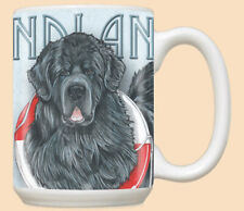 Newfoundland Newfie Dog Ceramic Coffee Mug Tea Cup 15 oz