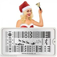 MoYou London FESTIVE 30 Collection Stamping Schablone, Weihnachten ugly sweater