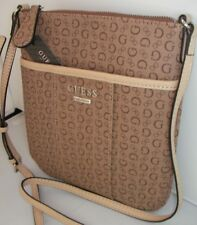 NEW guess cross body shoulder hand bag mocha color MCGILL MINI group