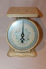Vintage American Family 30lb Baby Nursery Scale Pink Blue Home Office Scales