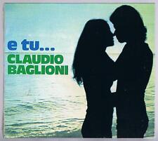 CLAUDIO BAGLIONI E TU... CD DISCHI D'ORO F.C.SIGILLATO!!!