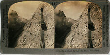 Keystone Stereoview Railway to the Clouds, SWITZERLAND from 1910's Education Set