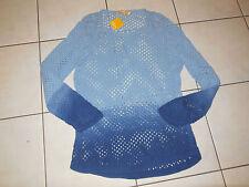 BIBA Toller Lochmuster Frühlings Pullover XL 44/46 Baumwolle NEU