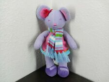 New listing Bath and Body Works Plush Noelle Stuffed Animal Toy Purple Mouse