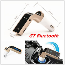 Autos G7 AUX Bluetooth Handsfree FM Transmitter Kit MP3 Music Player USB Charger