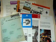 Lot Prospectus Agricole Vigne CARUELLE Brochure Tracteur Tractor Pulvérisateur