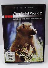 DVD Film - Wonderful World 2 Wildtiere und ihre Lebensräume Special Edition