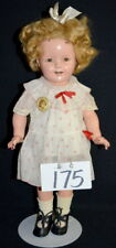 "18"" Shirley Temple Doll, Marked ""Shirley Temple"", Sleep Eyes, All Com... Lot 175"