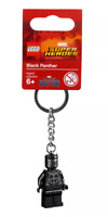 LEGO 853771 Marvel Superheroes BLACK PANTHER Keyring Figure Keychain Zipper Pull