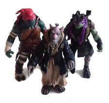 """Teenage Mutant Ninja Turtles Modern Movie  SPLINTER & TURTLES 5"""" toy figures"""