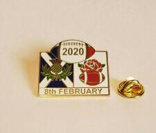 SCOTLAND VS ENGLAND RUGBY BADGE 2020