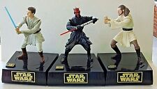 Set of 3 STAR WARS Episode 1 Interactive Talking Banks with Combat Action