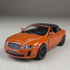2010 Bentley Continental Convertible Brown 1:38 Scale Diecast Model Car Detailed