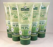 Aloe Pura Organic Aloe Vera Gel 200ml SIX TUBES