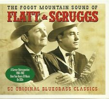 THE FOGGY MOUNTAIN SOUND OF FLATT & SCRUGGS 1950 - 1962 / 2 CD BOX SET