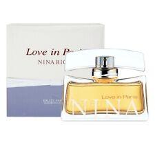 LOVE IN PARIS NINA RICCI 80ML EAU DE PARFUM SPRAY SEALED BOX GENUINE PERFUME