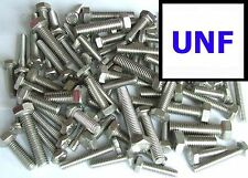 Stainless UNF Hex Head Bolts 1/4, 5/16, 3/8 Fully Threaded Set Screws x50 Mixed