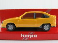 Herpa 2046 Opel Kadett E GSi (1984-1991) in dunkelgelb 1:87/H0 NEU/OVP