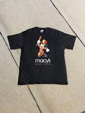 New listing Vtg 90's Disney Mickey Mouse Macy's Nyc Thanksgiving Parade Shirt Black Xl