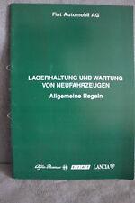 Fiat Automobil AG - Lagerhaltung und Wartung von Neufahrzeugen - Allg. Regeln