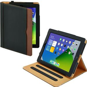 iPad Mini Case (1 2 3 Generation) Leather Magnetic Smart Cover Wallet for Apple