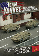 Flames of War BNIB Team Yankee BRDM-2 Recon Platoon (x4) TSBX10