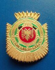 ALBANIA SOLID SILVER ORDER OF GRAND MASTER OF LABOUR WORK RARE 3rd REPUBLIC 1996