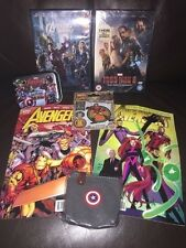 Marvel Avengers Bundle - Comics, Iron Man 3 DVD, Hero Attax Trading Cards & More