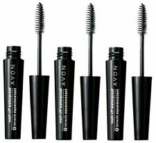 Avon washoff waterproof mascara black 3 lot free shipping