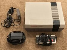 Nintendo NES Console System w/ Controller, Power Supply & RF Switch - Powers On!
