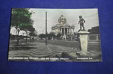 Avenida Rio Branco Manequin Pis Rio de Janeiro Postcard