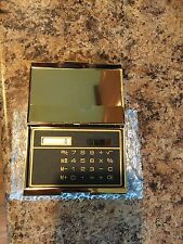 Brand New Gold Color Business Name Card Holder Case With Calculator